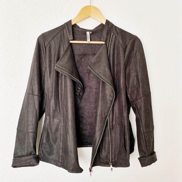 Miilla Clothing Jackets & Blazers - Miilla vegan leather moto jacket